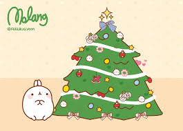 The molang christmas tree http://www.facebook.com/molangfrance ...