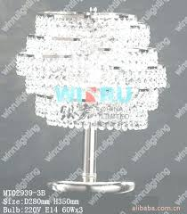 tabletop chandelier lamp tabletop chandelier lamp tadpoles