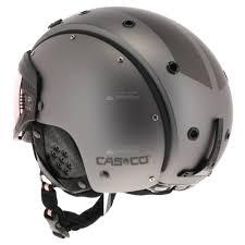 Design Ski Helmet Casco Sp 6 Visor Vautron Skihelm Ski Helmet With Visor Dark Grey