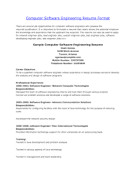 Experience Resume Sample Of A Software Engineer Inspirationa