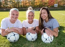 Girls' soccer: Monmouth strikers form a triple scoring threat | Lewiston  Sun Journal