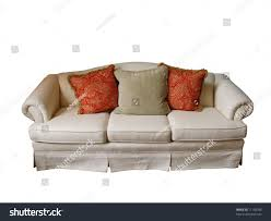 Paisley Sofa overstuffed sofa covered offwhite fabric two stock photo 11138785 1708 by uwakikaiketsu.us