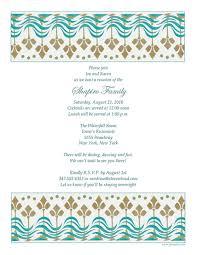 dinner invitation sample free family reunion letter template