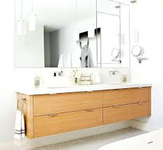 wall mounted faucets bath view full size contemporary bathroom features veneer floating double vanity paired with