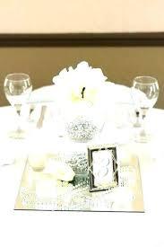mirror table centerpiece ideas centerpieces wedding uk round for decor decorations kitchen amusing