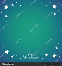 Frohe Weihnachten Türkis Hintergrund Mit Weißen Sternen