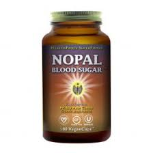 HealthForce SuperFoods <b>Nopal Blood Sugar</b> 180 vcaps | Pharmaca