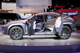 2018 lexus ux.  lexus the lexus ux concept looks like it will chew you up and spit out   verge to 2018 lexus ux