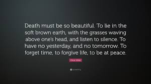 Beautiful Quotes For Death