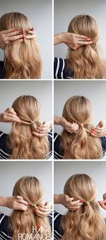 Hair Style Simple halfup hairstyle inspiration hair romance 7641 by wearticles.com