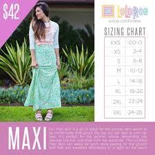 Lularoe Llr Maxi Skirt Dress Versatile Comfortable Material