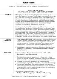 Electrical Engineer Resume – Resume Sample Directory