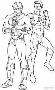 Small Picture Flash Coloring Pages Flash Superhero Coloring Free Coloring Pages
