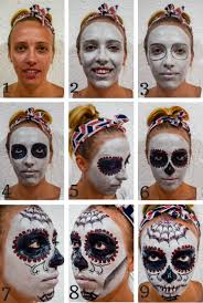 quick easy mexican day of the dead or skull mask tutorial