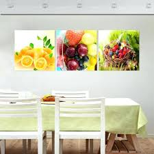 kitchen framed wall art fallout fruit kitchen decorative pictures oil triptych painting no frame wall art