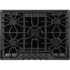 30 5 burner gas cooktop.  Gas Frigidaire Gallery 30 In Gas Cooktop In Black With 5 Burners For Burner I