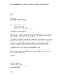 bid proposal template sample cover letter bid gallery photos of bid request letter