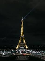 preview wallpaper eiffel tower paris night city city lights france