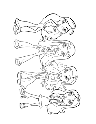 Coloring Pages For Girls Dr Odd