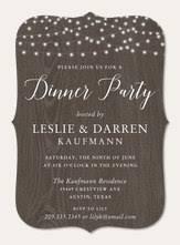 Dinner Invation Dinner Party Invitations