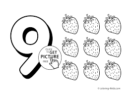 Small Picture Free Printable Number Coloring Pages For Kids Coloring Coloring