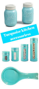 Turquoise Kitchen Decor Brighten Things Up With Turquoise Kitchen Accessories Color And