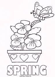 The only sad thing is that the first flower to bloom in my garden every year is usually a dandelion! Kindergarten Coloring Pages Spring Coloring Sheets Spring Coloring Pages