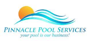 pool cleaning logo. Pinnaclepoolservices.com Pool Cleaning Logo