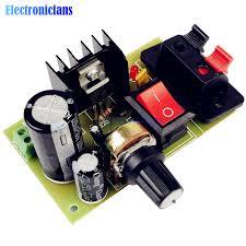 LM317 <b>DC 5V 35V</b> DIY Kit Step Down Power Supply Module AC/DC ...