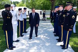 u s department of defense photo essay defense secretary leon e panetta arrives at a ceremony commemorating the 50th anniversary of the