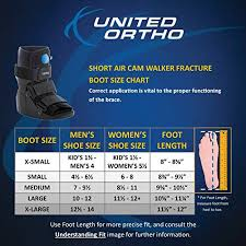 Deals On United Ortho Short Air Cam Walker Fracture Boot