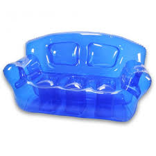 blow up furniture. Photo 1 Of 6 Ocean Blue Inflatable Bubble Couch (ordinary Blow Up Furniture For Kids #1) A