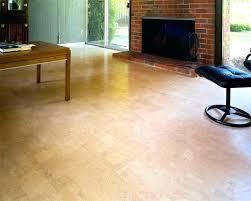 cork flooring basement cost of for image elegant installing gym