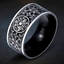 <b>KLDY Viking</b> male Ring stainless steel dragon ring for men Biker ...