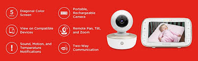 motorola 5 inch video baby monitor with wifi mbp845connect. motorola mbp855 connect 5 inch screen portable baby monitor video with wifi mbp845connect