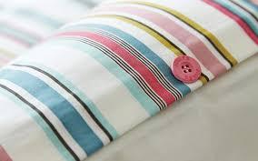 multi coloured striped duvet cover duvet cover on fastening