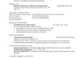Manufacturing Engineer Resume Examples Mechanical Engineer Resume Examples Engineer Resume Samples Computer