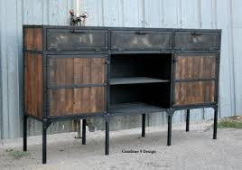 mid century modern dining room hutch. Custom Made Buffet/Hutch - Vintage Industrial/Mid Century Modern. Rustic, Reclaimed Mid Modern Dining Room Hutch I