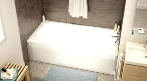 bathtubs inch tub at home depot bathtub 54 x 30 slipper acrylic industries vtl0116l white acryli