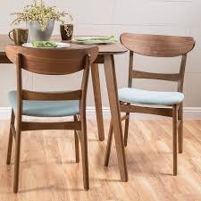 amazon christopher knight home 298970 idalia walnut finish dining chair set of 2 mint chairs