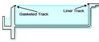 infinity pool edge detail. Building A Vinyl Infinity Edge Pool Detail