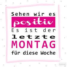 Spruch Sprüche Montag Lustig Positiv Domino Blog Wochenstart