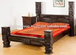 indian furniture bed. Exellent Indian Carving Bedjpg With Indian Furniture Bed