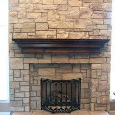 fireplace stone veneer home depot beautiful cobblestone fireplace cobble stone veneer faux stone