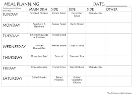Meal Plan Week 11 Meal Planning How To Plan Meals