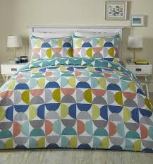 fusion quantum geometric reversible easycare duvet quilt cover bedding set multi bb textiles bb textiles