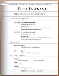 free resume templates to download and print free resume templates