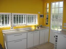 Yellow And Brown Kitchen Yellow Wall Kitchen Home Design Ideas