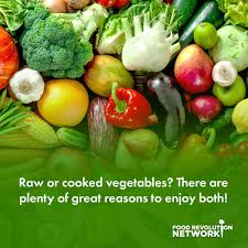 Raw Vs Cooked Vegetables Chart Raw Vs Cooked Vegetables The Healthiest Ways To Eat Your