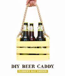 diy beer caddy father s day edition